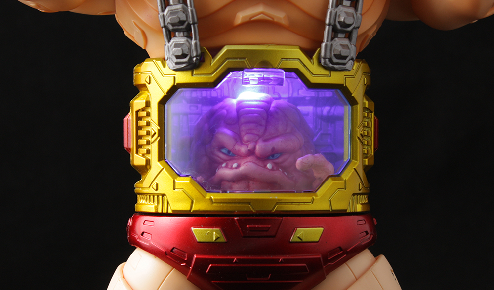 First Gokin NT-01 Cerebral (TMNT Krang) Review