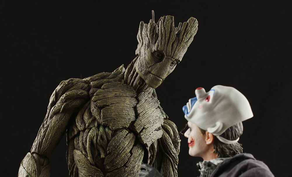 Hot Toys MMS254 1/6 Rocket and Groot Review