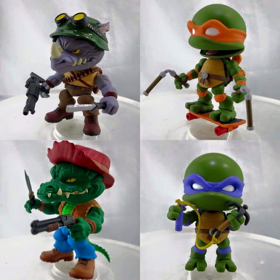 New Pics of The Loyal Subjects TMNT Wave 2!