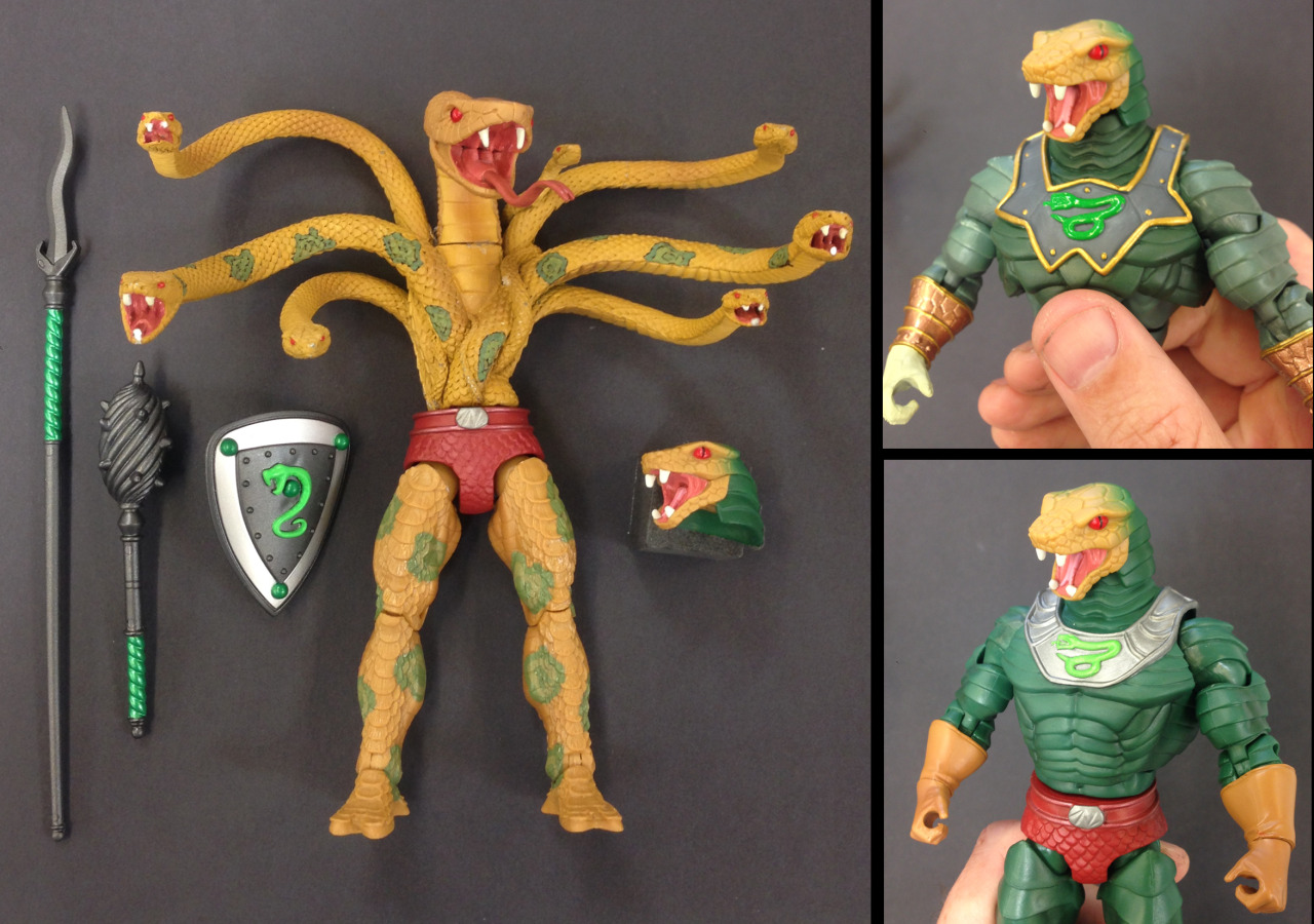MOTUC: King Hssss' Torso Update!