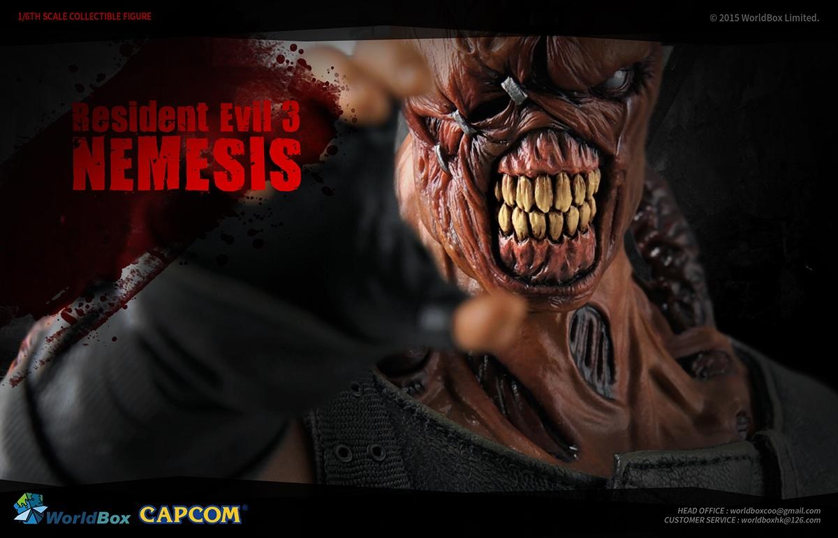 Worldbox Resident Evil 1/6 Nemesis Revealed!