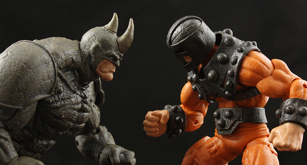 Marvel Legends Spider-Man Series Rhino Build-A-Figure Review