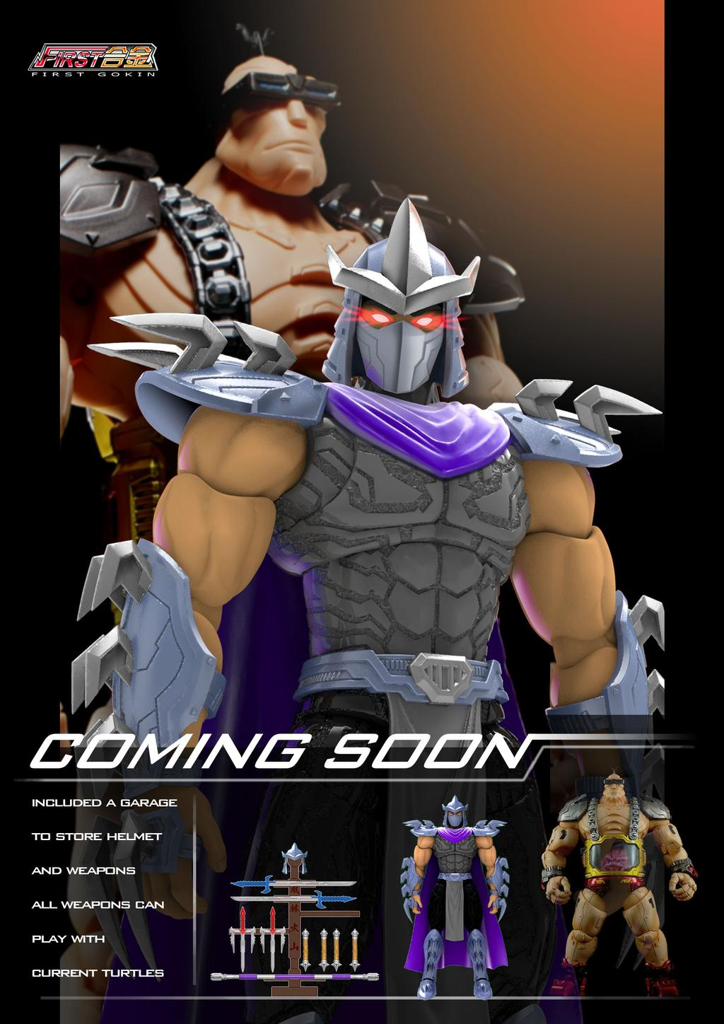 First Gokin Reveals NT-02 Shredder!