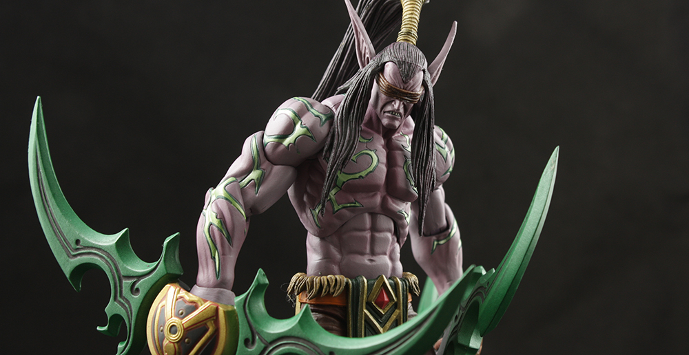 NECA Heroes of the Storm Illidan Stormrage Review