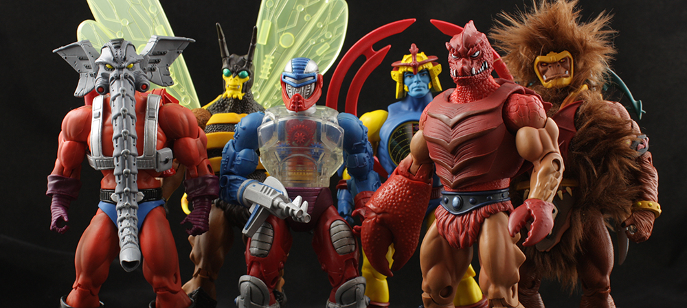 Mattel MOTUC Heads of Eternia (200x) Review