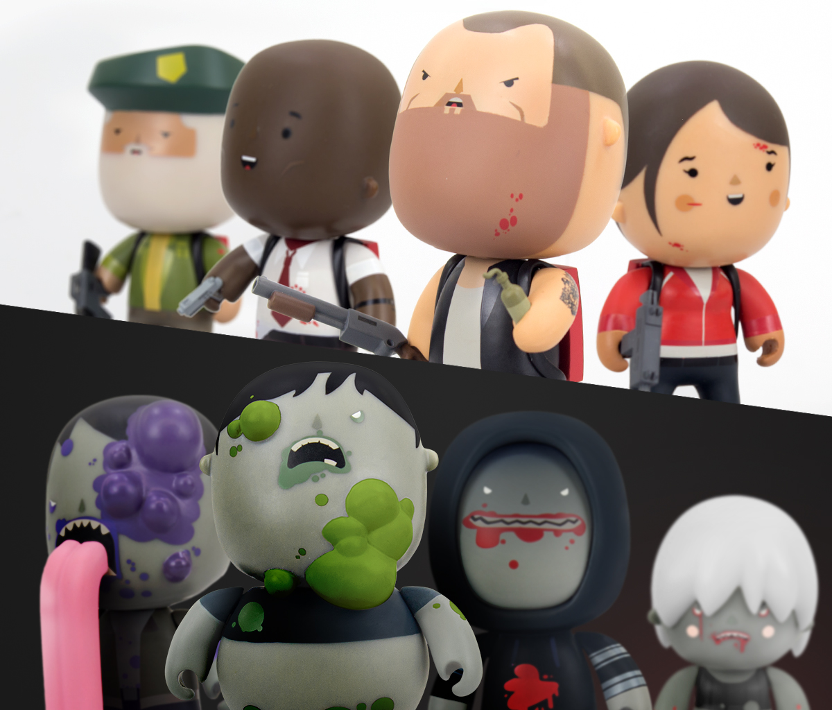 Left 4 Dead Vinylkins Collection Up for Preorder!