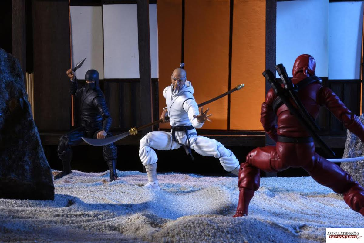 Articulated Icons: The Feudal Series Kickstarter Campaign Has Begun!