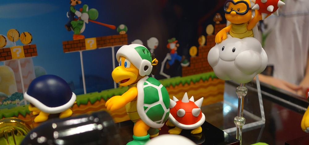 NYCC 2015: S.H. Figuarts Super Mario Brothers