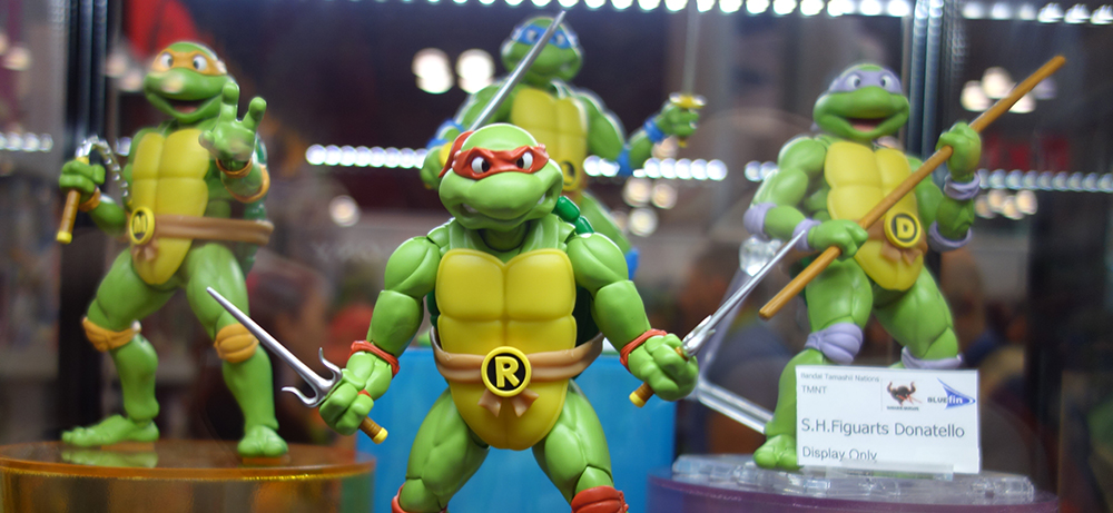 NYCC 2015: S.H. Figuarts Teenage Mutant Ninja Turtles