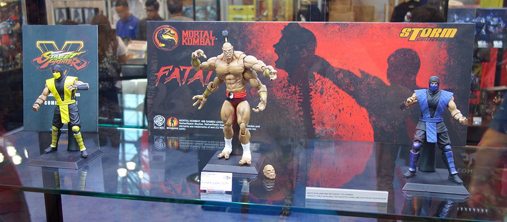 NYCC 2015: Storm Collectibles Mortal Kombat and Street Fighter