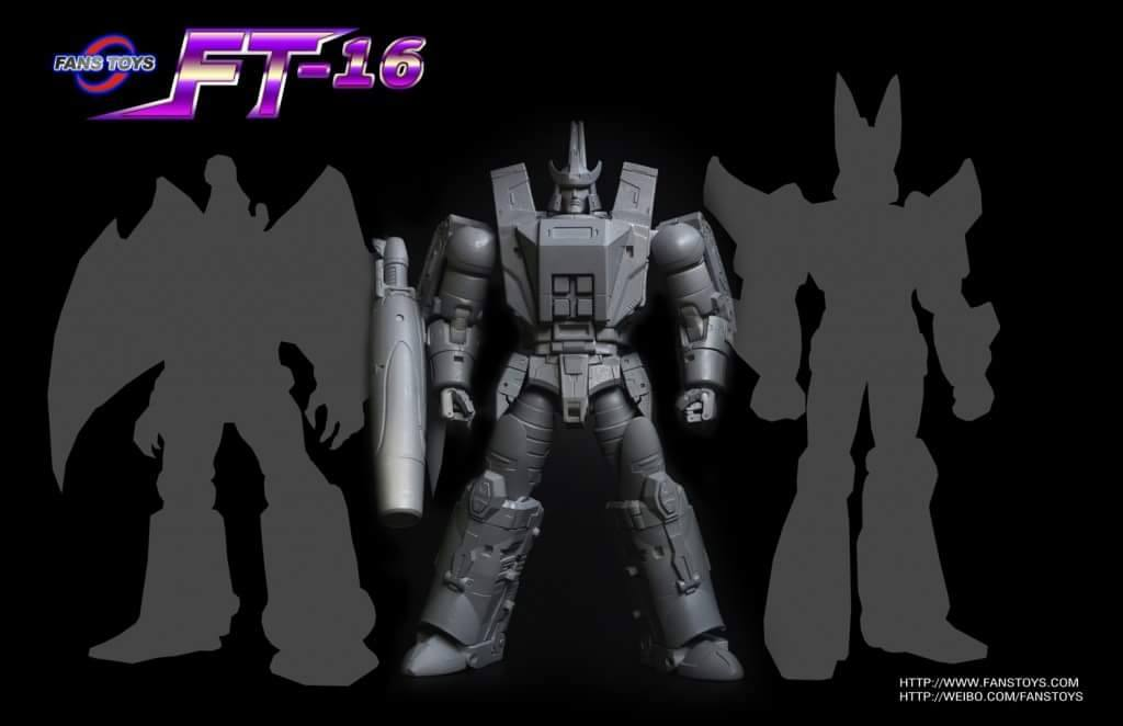 Fans Toys Announces FT-16 Sovereign and FT-17 Hoodlum