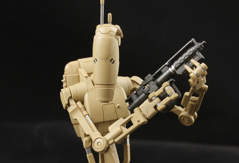 S. H. Figuarts Star Wars Battle Droid Review