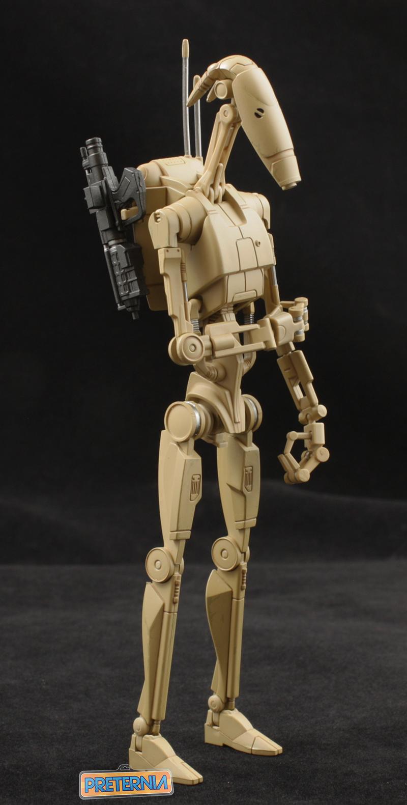 S h figuarts star wars battle droid episode 1 preternia - Robot blanc star wars ...