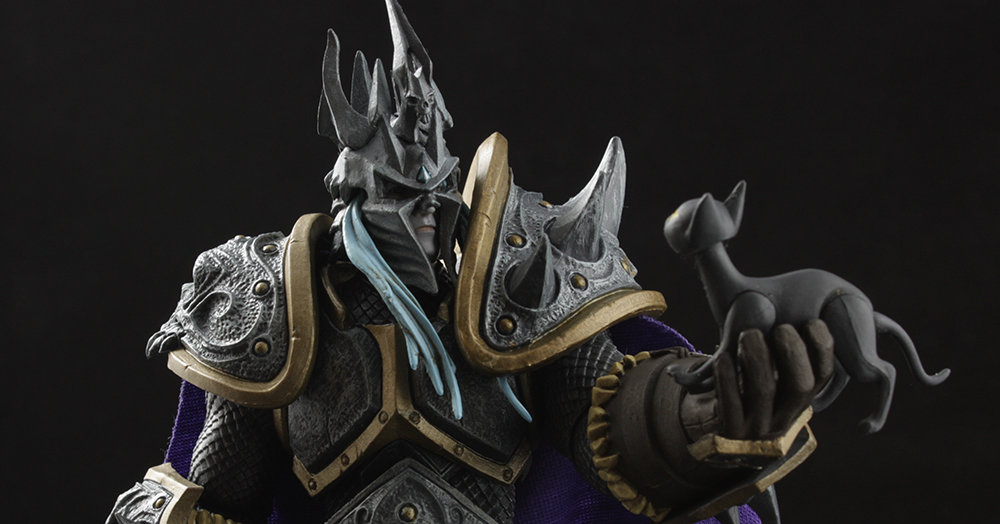 NECA Heroes of the Storm Arthas the Lich King Review