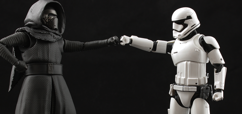 S. H. Figuarts Star Wars First Order Stormtrooper Review