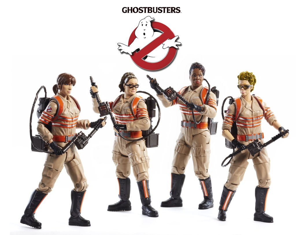 Mattel: New Female Ghostbusters Six-Inch Figures Revealed