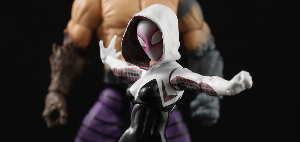 Marvel Legends Spider-Man Series Spider-Gwen Review