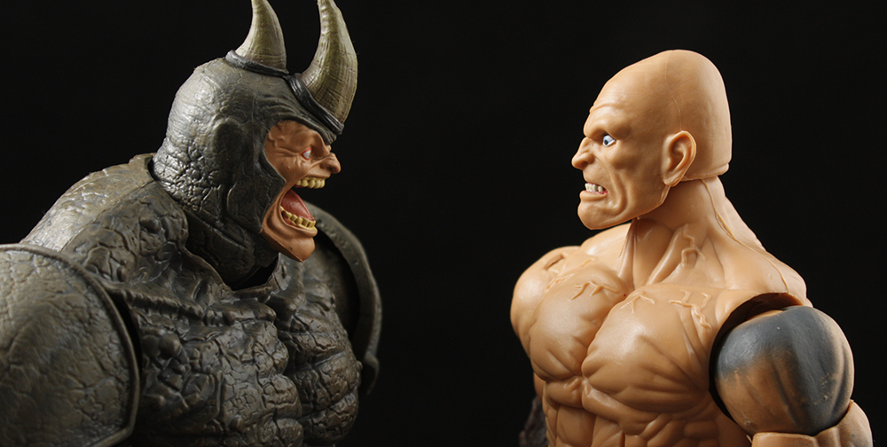 Marvel Legends Spider-Man Series Absorbing Man BAF Review