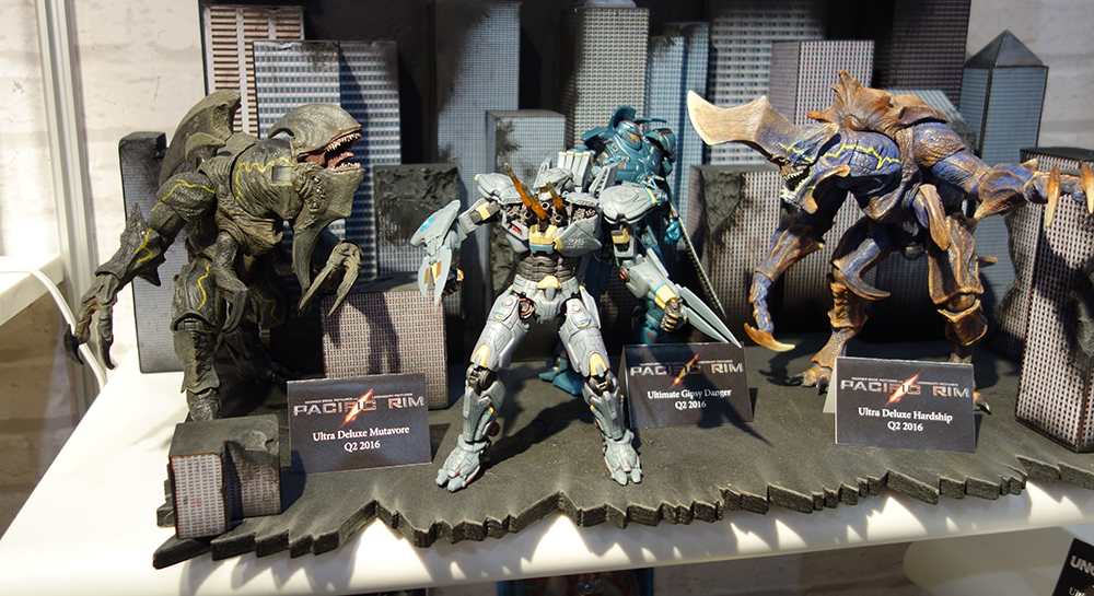 Toy Fair 2016: NECA Pacific Rim