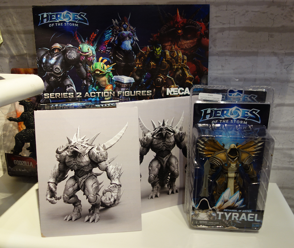 Toy Fair 2016: NECA Heroes of the Storm