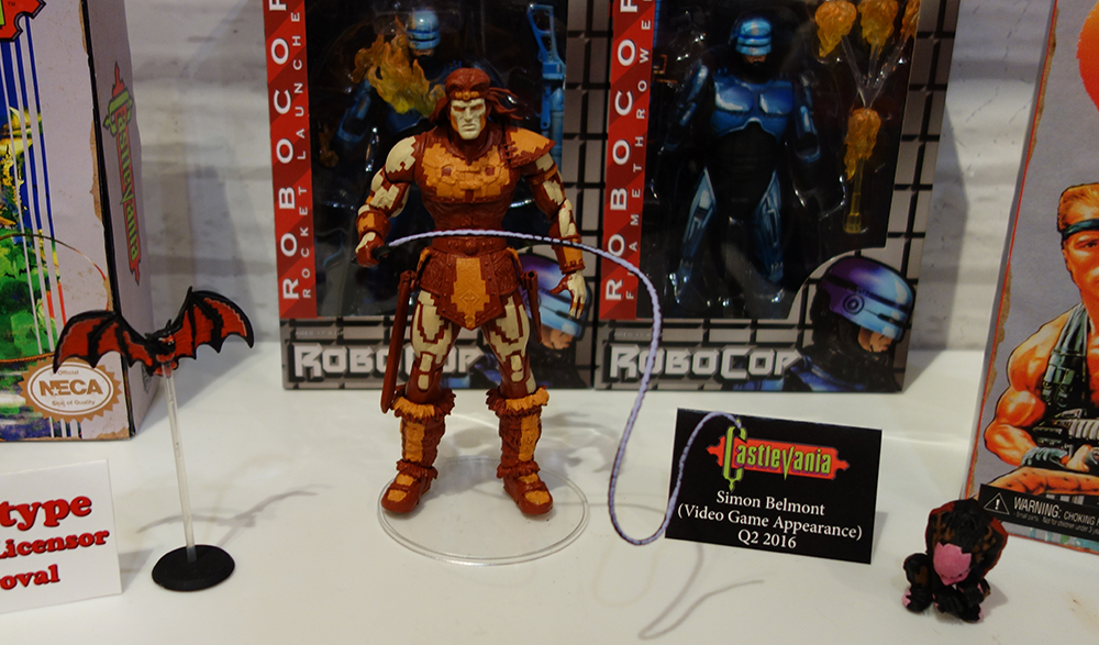 Toy Fair 2016: NECA Castlevania and Contra