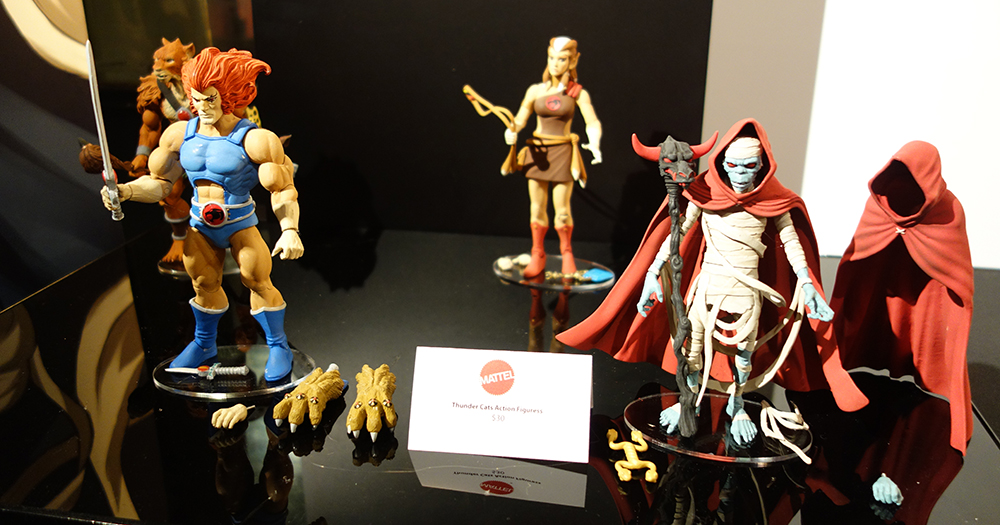Toy Fair 2016: Mattel Thundercats