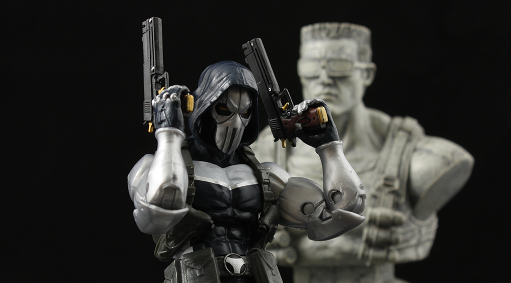 Marvel Legends Onslaught Series Taskmaster Review