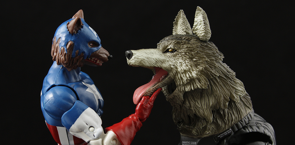 Marvel Legends Onslaught Series Captain America Review