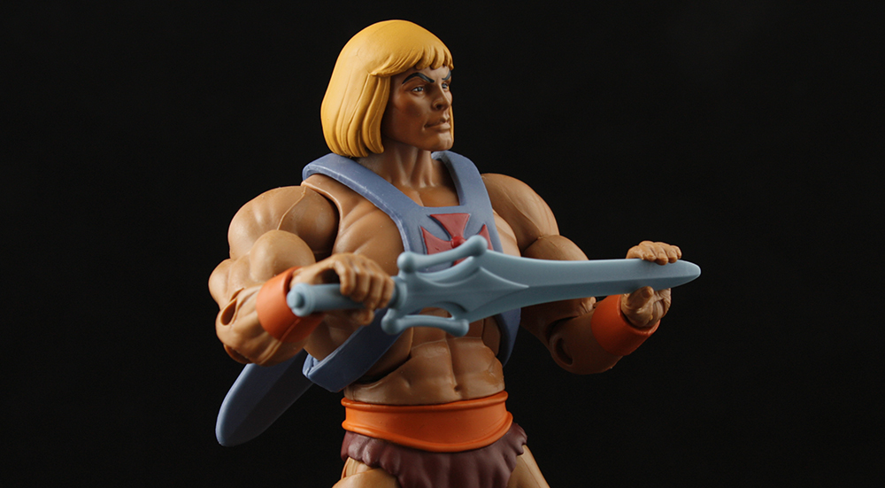 Mattel MOTUC Filmation He-Man Review