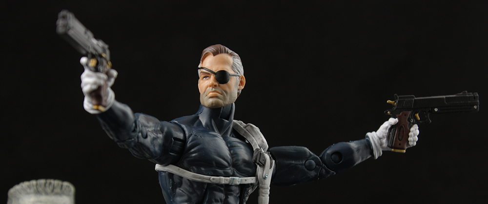 Marvel Legends Civil War Giant Man Series Nick Fury Review