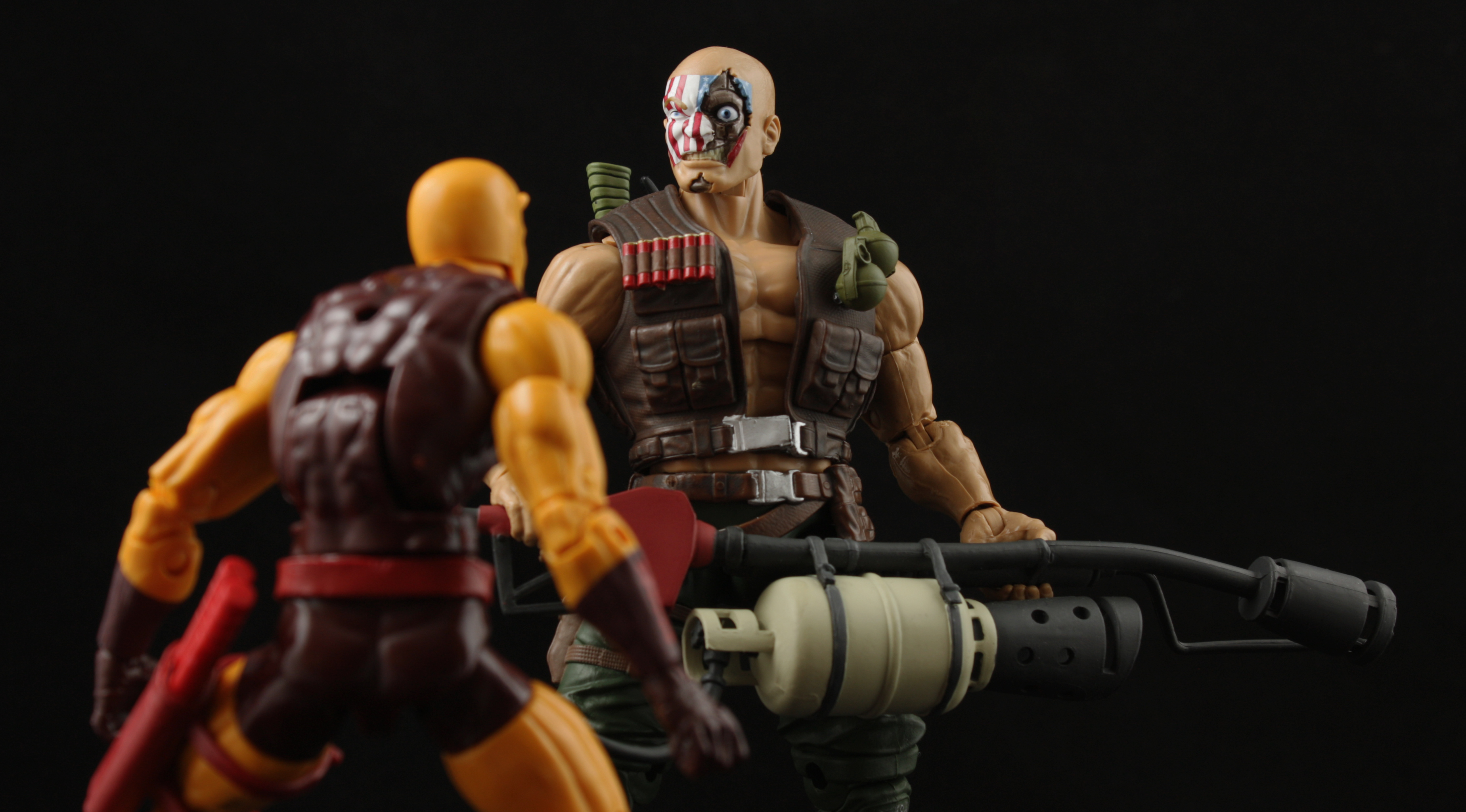 Marvel Legends Civil War Giant Man Series Nuke Review