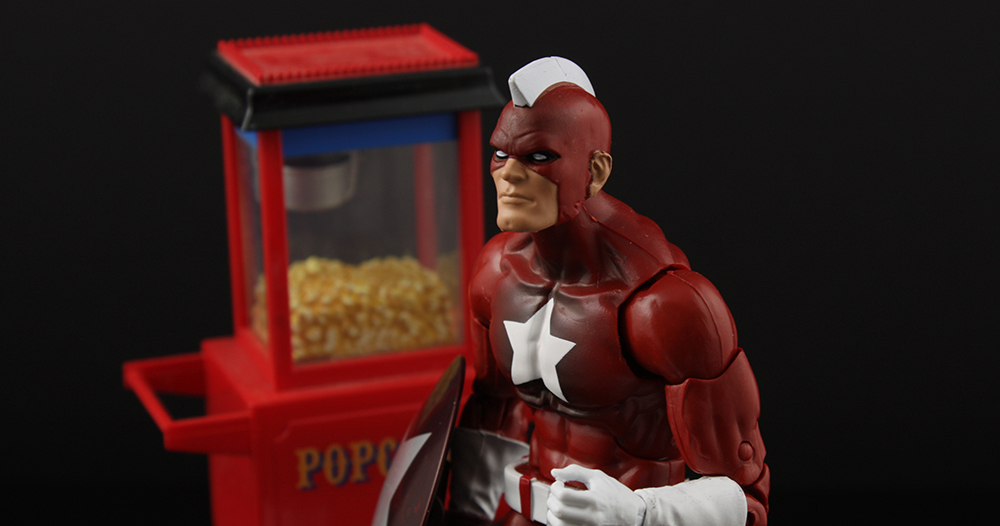 Marvel Legends Civil War Giant Man Series Red Guardian Review
