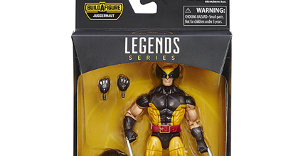 Hasbro Marvel Legends X-Men Wave Wolverine and Juggernaut Revealed!