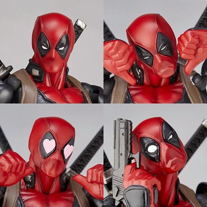 Kaiyodo Revoltech Deadpool Incoming!