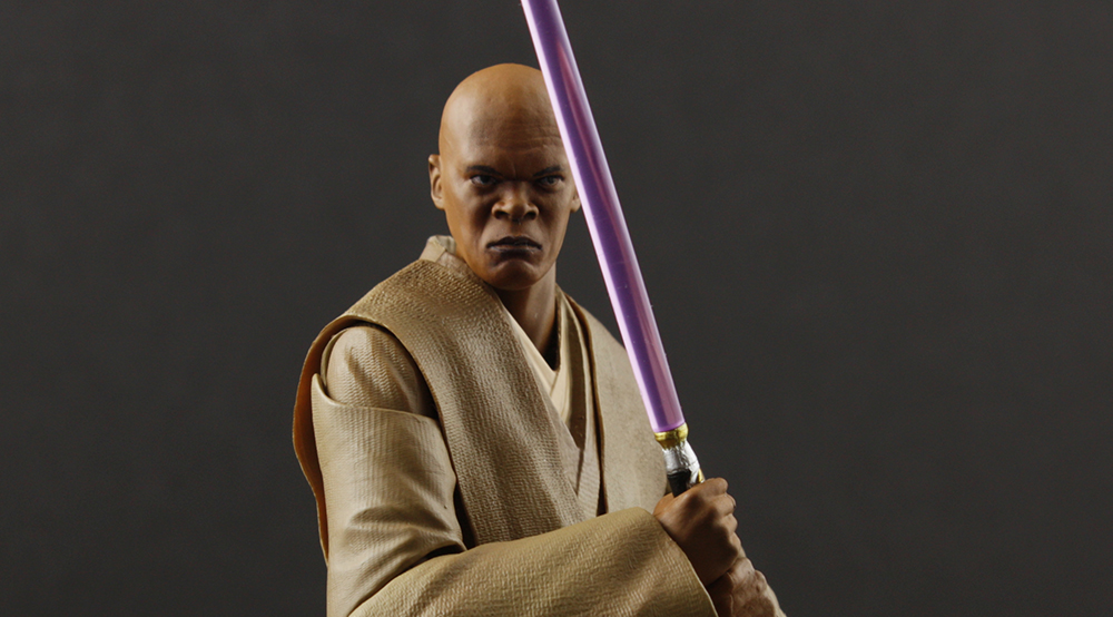 S. H. Figuarts Star Wars Mace Windu Review