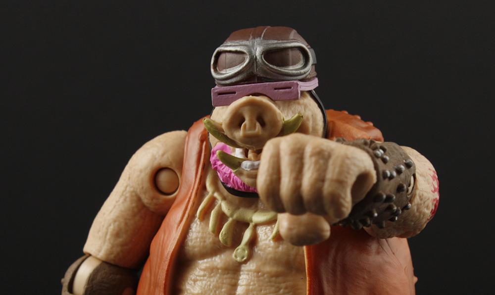 TMNT Out of the Shadows Bebop with Warthog Trike Review
