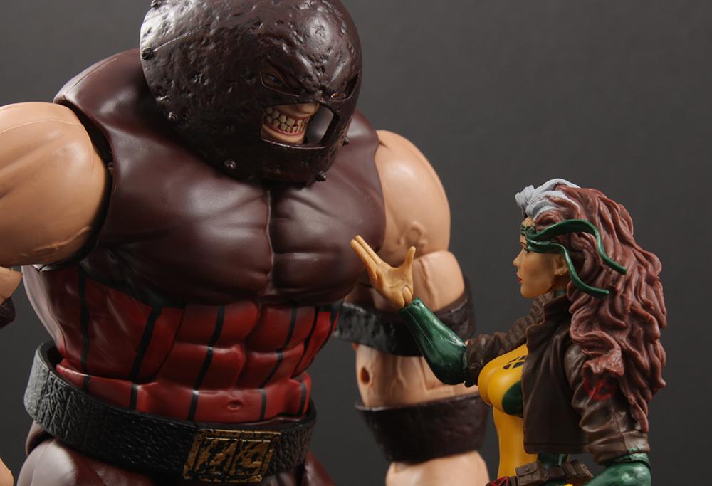 Marvel Legends X-Men Juggernaut Series Rogue Review