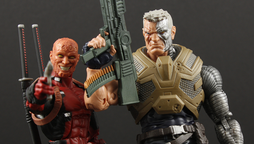 Marvel Legends X-Men Juggernaut Series Cable Review