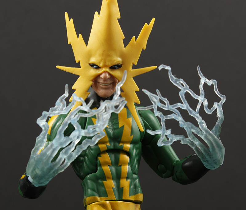 Marvel Legends Spider-Man Space Venom Series Electro Review
