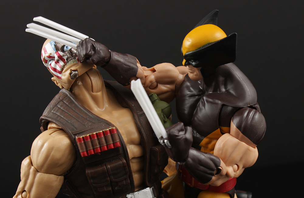 Marvel Legends X-Men Juggernaut Series Wolverine Review