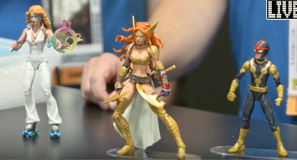 SDCC 2016: Hasbro Reveals Marvel Legends Angela, Nova, and Dazzler!