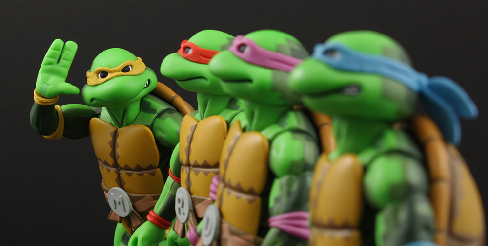 NECA SDCC Exclusive TMNT Arcade Game Ninja Turtles Review