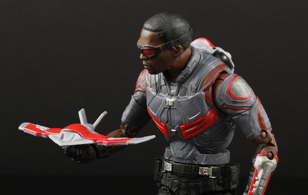 Marvel Legends Civil War Falcon Walmart Exclusive Review