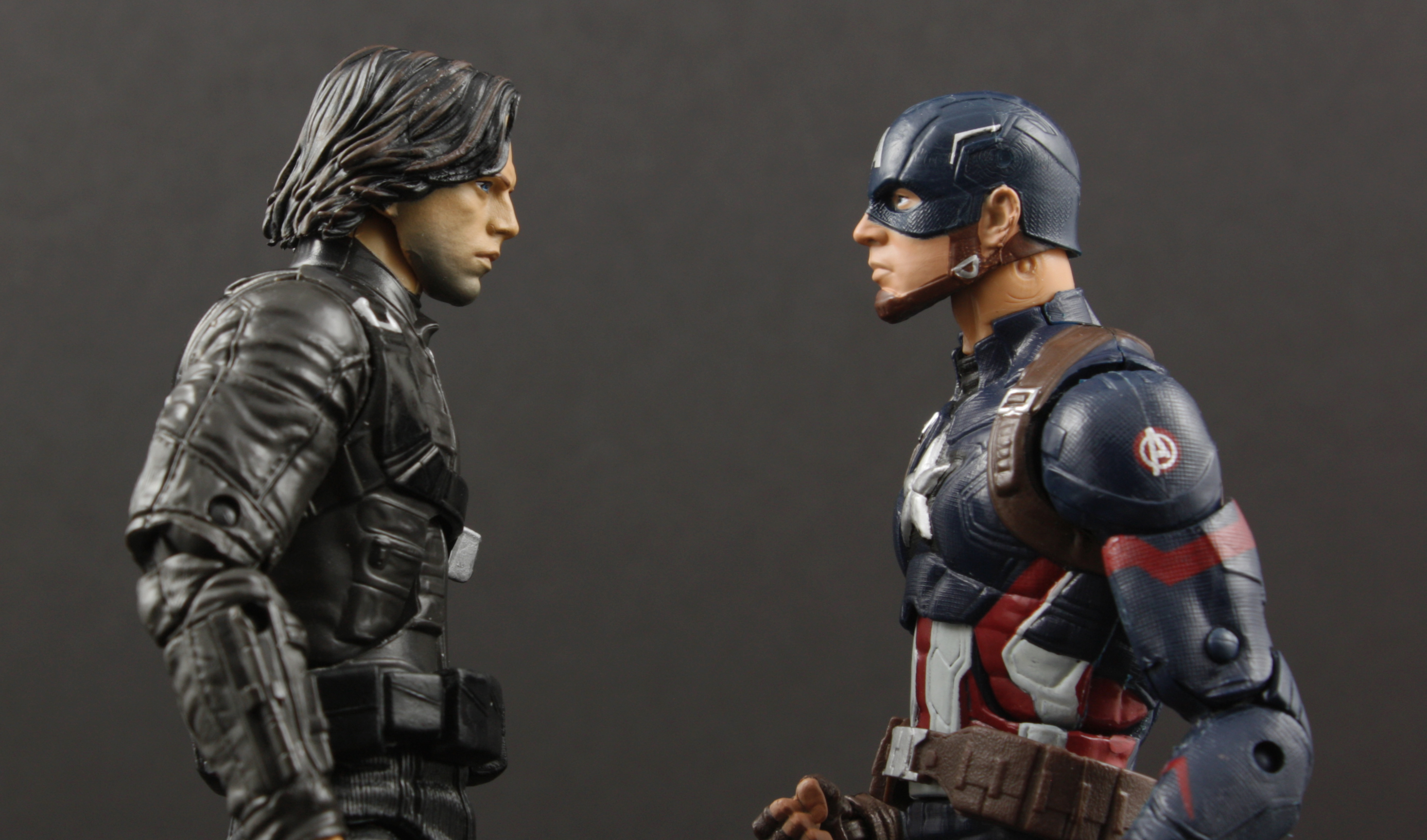 Marvel Legends Civil War Winter Soldier Walmart Exclusive Review