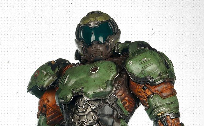 3A and Bethesda Reveal 1/6 Scale Doom Marine!