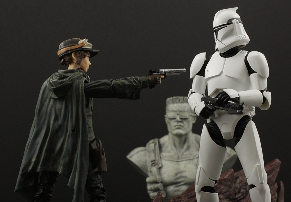Hasbro Star Wars Black Kmart Exclusive Sergeant Jyn Erso (EADU) Review