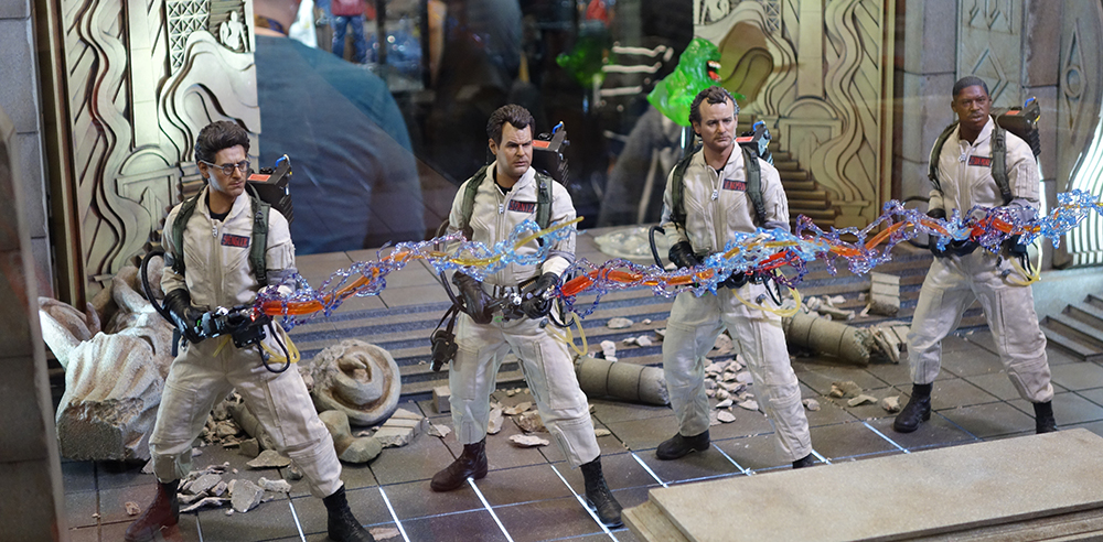 NYCC 2016: Blitzway 1/6 Scale Ghostbusters and Fight Club