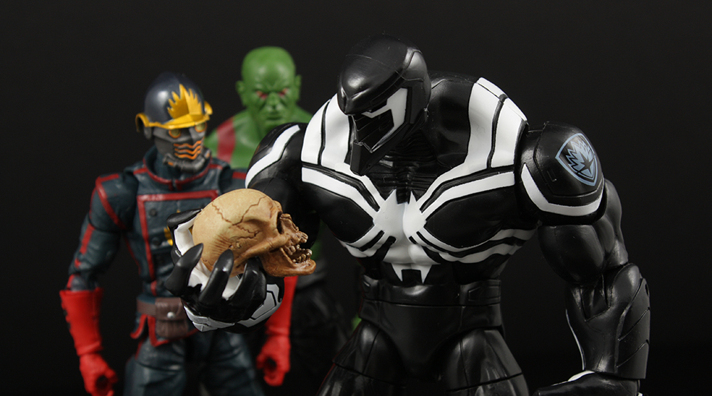 Marvel Legends Spider-Man Series Space Venom Build-A-Figure Review