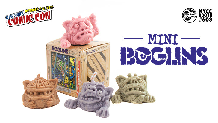 NYCC 2016: Boglins Mini Series Debuting at Clutter Magazine's NYCC Booth!