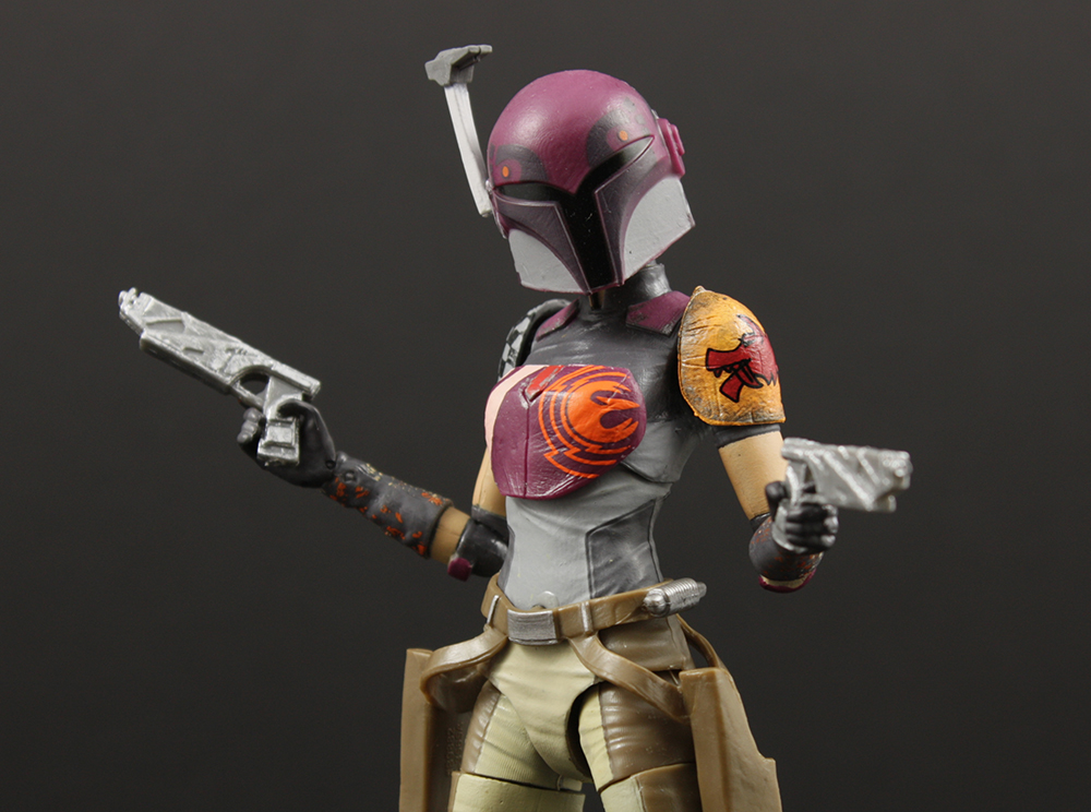 Hasbro Star Wars Black Six-Inch #33 Sabine Wren Review